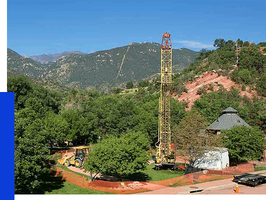Barnhart Pump Co. water well pump company Colorado Broadmoor Seven Falls pump installation